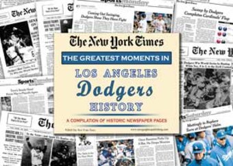 Los Angeles Dodgers History: Baseball Newspaper