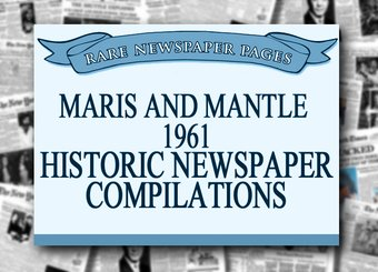 Maris and Mantle 1961: Baseball Newspaper