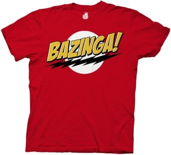 Bazinga! No Face - T-Shirt