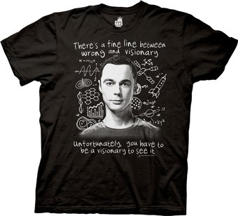 The Big Bang Theory - Visionary - T-Shirt