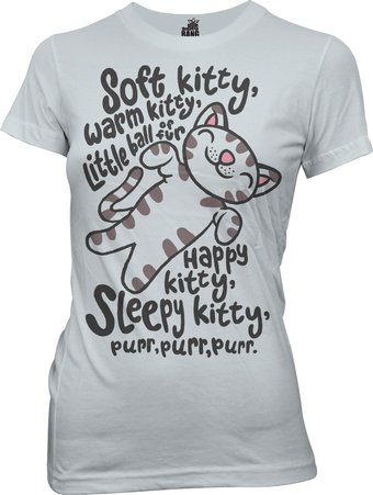 The Big Bang Theory - Soft Kitty - T-Shirt