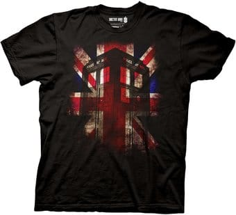 Doctor Who - TARDIS Union Jack - T-Shirt