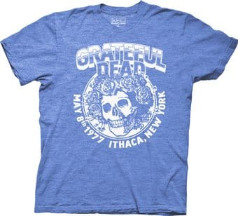 Grateful Dead - Ithaca New York 1977 - T-Shirt