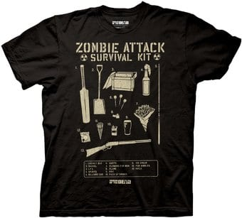 Shaun Of The Dead: Zombie Attack Survival Kit -