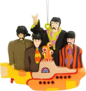 Yellow Submarine: With Group Ornament