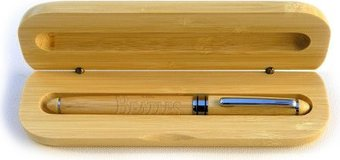 Drop T Logo: Bamboo Gift Pen in Collector's Box