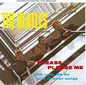 Please, Please Me: Album Cover Greeting Card