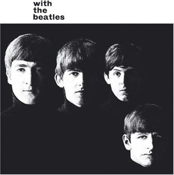 With The Beatles: Album Cover Greeting Card