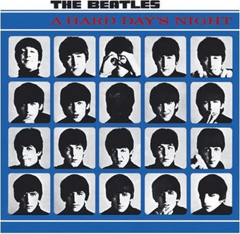A Hard Day's Night: Album Cover Greeting Card