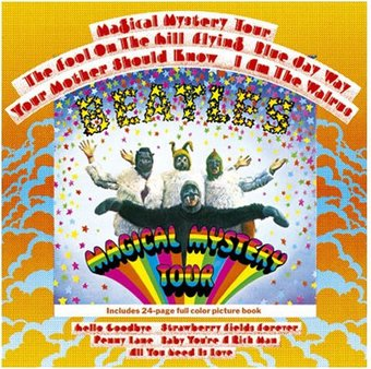 Magical Mystery Tour: Album Cover Greeting Card