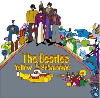 The Beatles - Yellow Submarine: Album Cover