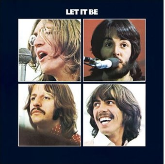 Let It Be: Album Cover Greeting Card