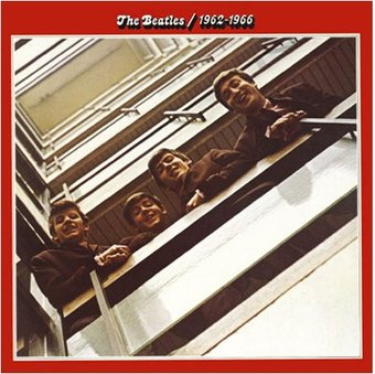 Red Album 1962-1966: Album Cover Greeting Card