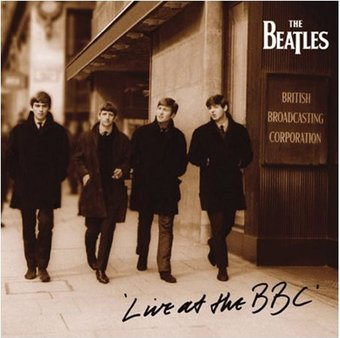 The Beatles - Live at The BBC: Album Cover