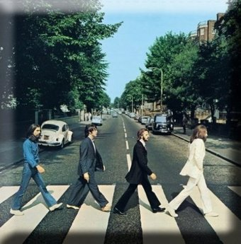 The Beatles - Abbey Road: Album Cover Magnet