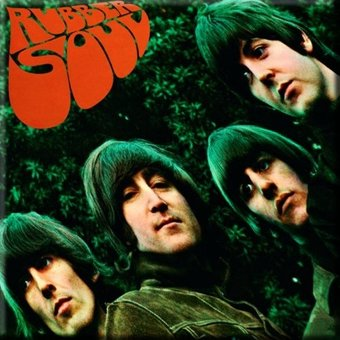 Rubber Soul: Album Cover Magnet