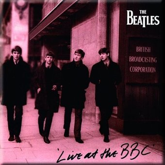 The Beatles - Live at The BBC: Album Cover Magnet