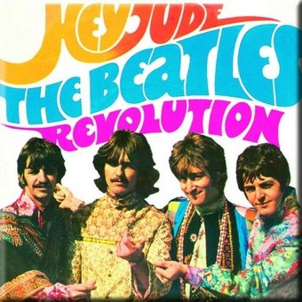 The Beatles - Hey Jude & Revolution: Magnet