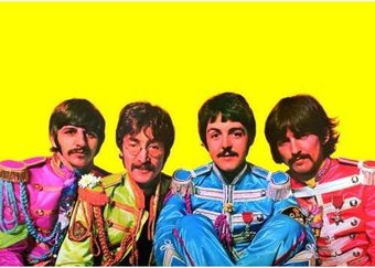 The Beatles - Sgt. Peppers: Color Portrait Post