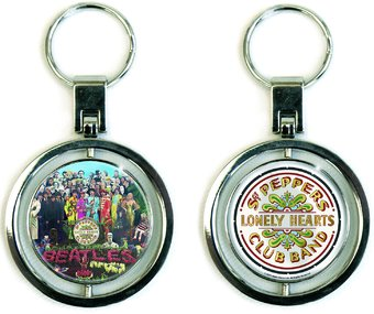 The Beatles - Sgt. Peppers: Spinner Keychain