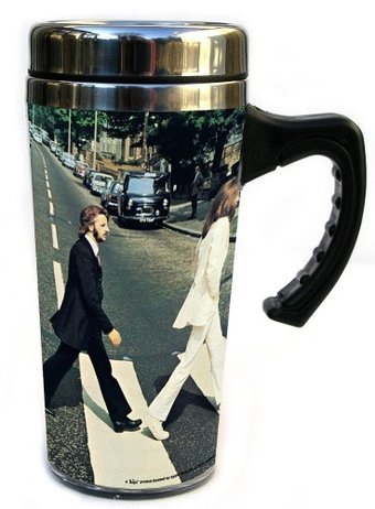 Abbey Road: Insulated 16 oz. Travel Mug