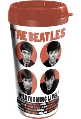 1962 Performing Live: 16 oz. Plastic Travel Mug