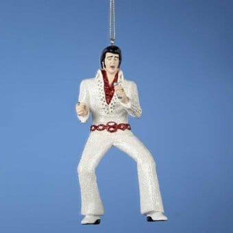 Elvis Presley - I Got Lucky - Jump Suit Ornament