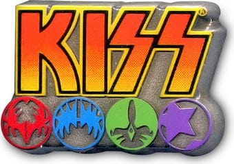 KISS - Logo & Icons - Pin Badge