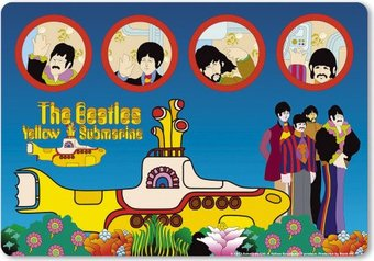 Yellow Submarine: Mouse Pad