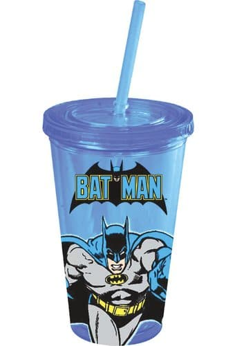 Batman - Action - 16 oz. Plastic Cold Cup with