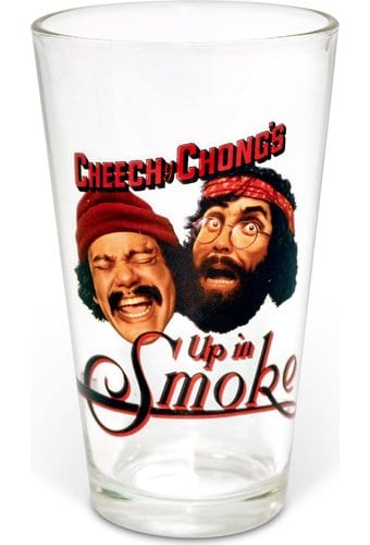 Cheech & Chong - Up in Smoke: 16 oz. Pint Glass
