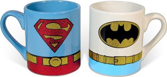 DC Comics - Superman & Batman - Uniform Glitter -
