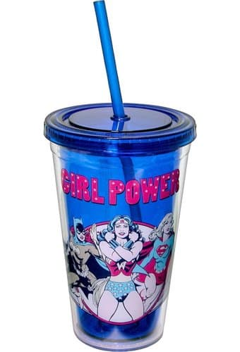 Female Superheroes - Girl Power - 16 oz. Plastic