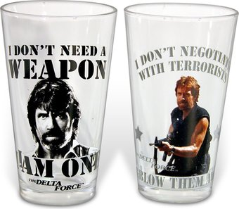 Delta Force - 2-Piece 16 oz. Pint Glass Set