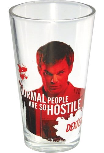 Dexter - Normal People - 16 oz. Pint Glass