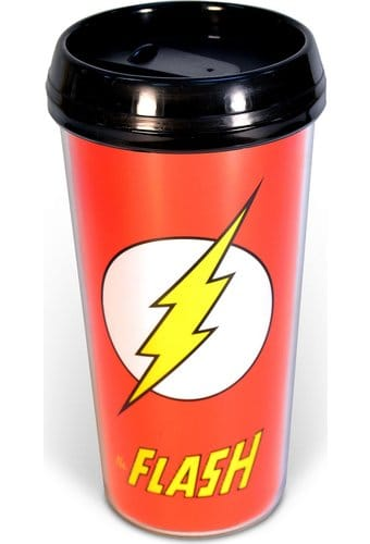 DC Comics - The Flash - 16 oz. Plastic Travel Mug