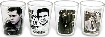Goodfellas - 4-Piece Shot Glass Set