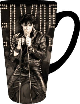 Elvis Presley - Wlvis with Microphone - 16 oz.