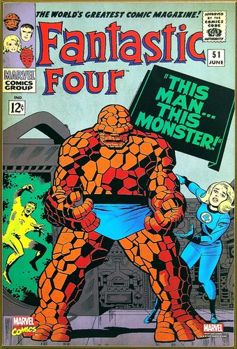 "Marvel Comics - Fantastic Four ""Man/Monster"" 13"""