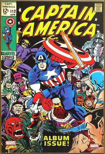 Marvel Comics - Captain America - Album Issue