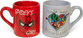 Spidey Girl & Date Superheroes - 2 Piece 14 oz