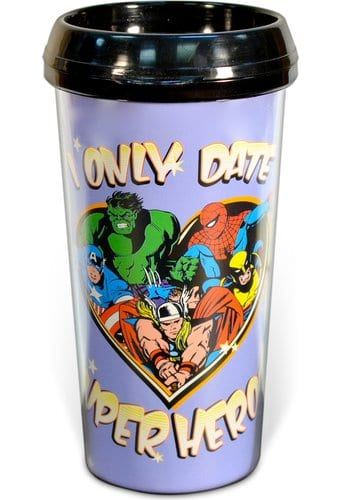 Marvel Comics - I Only Date Superheroes - 16 oz.