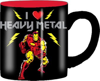 Marvel Comics - Iron Man - Heavy Metal: 14 oz.