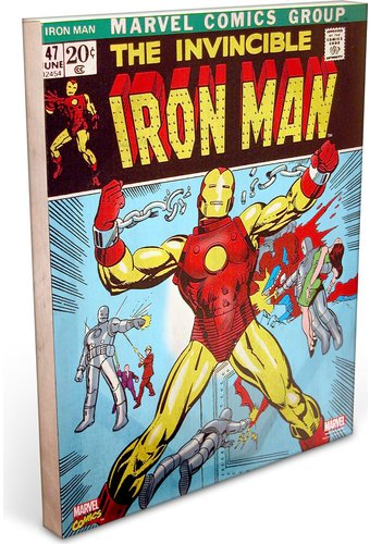 "Marvel Comics - Iron Man ""Power"" 16"" x 20"" Canvas"