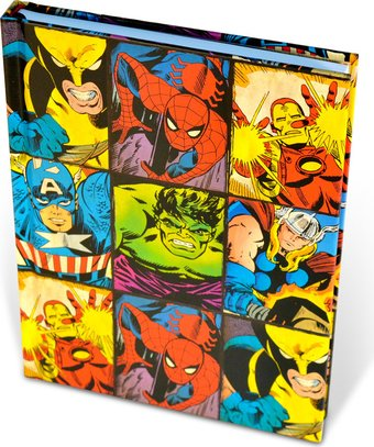 Marvel Comics - Heroes Grid: Hard Cover Journals