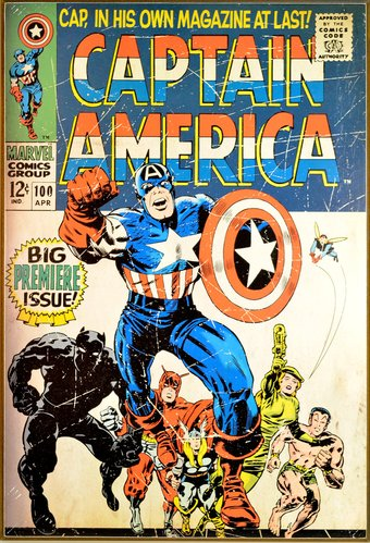 Marvel Comics - Captain America - Premiere Issue
