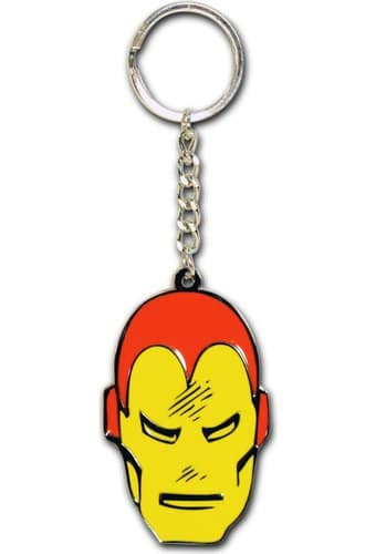 Marvel Comics - Iron Man - Face Metal Key Chain