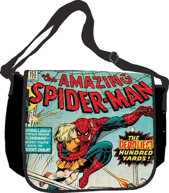 "Spiderman - Comics: Messenger Bag 15"" x 13"""