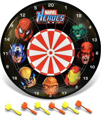 "Marvel Comics - Heroes: 14.5"" Magnetic Dart Set"
