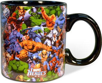 Marvel Comics - Heroes: 20 oz. Jumbo Ceramic Mug